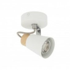 Aplique Orientable Mara 1 Foco Blanco