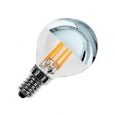 Bombilla LED E14 Regulable Filamento Reflect G45 3.5W