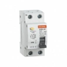 Interruptor Diferencial Industrial 2P-40 A-30mA-Clase AC-6kA