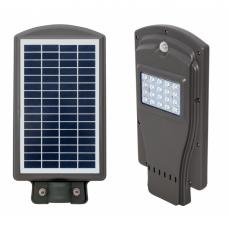 Farola Solar 10w 6500k  Gris 40x20,5x5,5