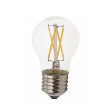 Bombilla Led BE27 Cristal Metal - 4W 4000K
