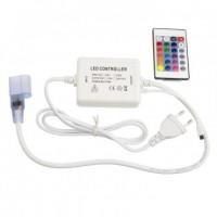 Controlador Neón LED Flexible RGB Control Remoto IR 24 Botones