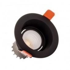 Foco LED CREE-COB Negro 10W