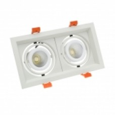 Foco LED CREE-COB Direccionable 2x10W