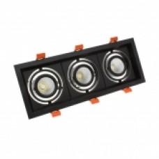 Foco LED CREE-COB Direccionable 3x10W