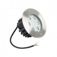 Foco LED Empotrable en Suelo 6W PRS6W | Decorativo
