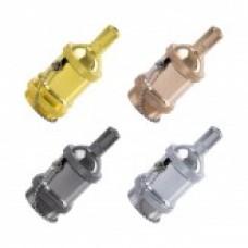 Portalámparas Metalizado Design con Interruptor