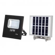 Proyector Solar 10w 800lm 6500k Negro