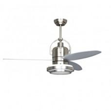 Ventilador de Techo LED Industrial 18W Plata